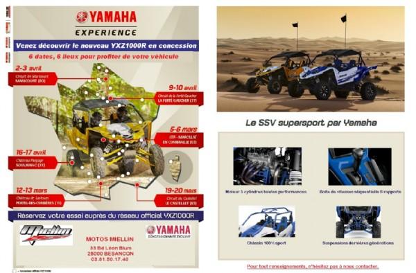 Venez découvrir le nouveau YXZ1000R à notre concession !
